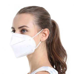 KN95 Disposable Face Mask White
